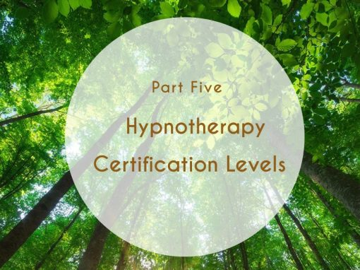 Levels of Hypnotherapy Certification
